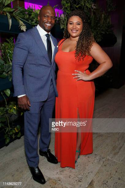 EVENTS NBC's Party at THE POOL Celebrating NBC's New Season Pictured Terry Crews Brooklyn NineNine on NBC Azriel Crews