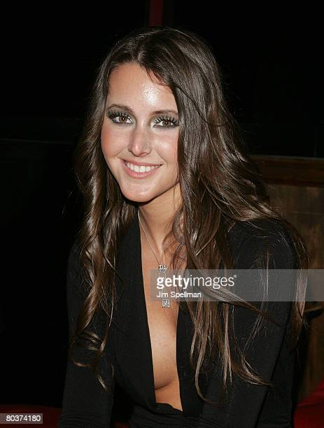2008's Penthouse Pet of the Year Erica Ellyson attends the 2008 Penthouse Pet of the Year Erica Ellyson Private Dinner Party at Rick's Cabaret on...