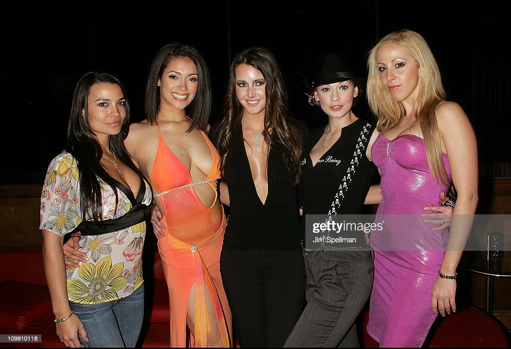 2008 Penthouse Pet of the Year Erica Ellyson Private Dinner Party : News Photo