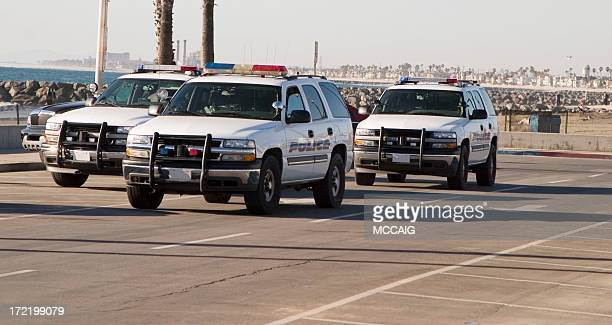police suv's - police car stock pictures, royalty-free photos & images