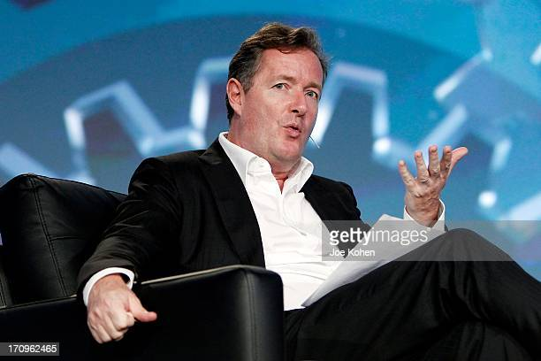 S Piers Morgan speaks during PROMAXBDA 2013 at JW Marriott Los Angeles at L.A. LIVE on June 20, 2013 in Los Angeles, California.