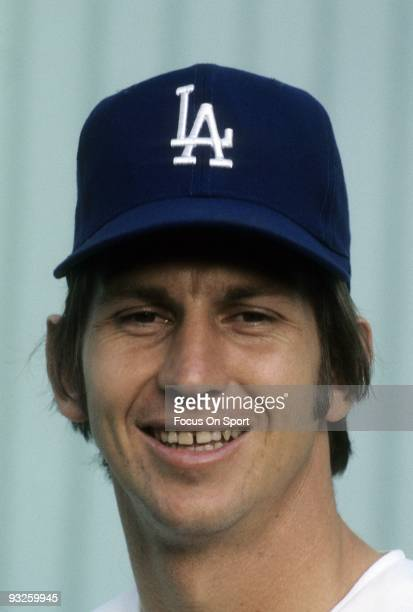 Pitcher Don Sutton of the Los Angeles Dodgers stares into the camera and smiles for this photo circa 1960's. Sutton played for the Dodgers from...