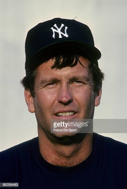 LAUDERDALE FL CIRCA 1980's Pitcher Tommy John of the New York Yankees stares into the camera circa 1980's during spring training in Fort Lauderdale...