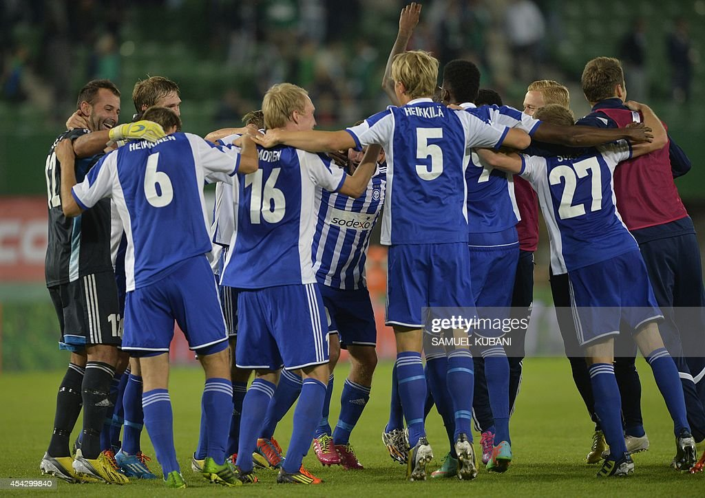 FBL-EUR-C3-RAPID WIEN-HJK : News Photo