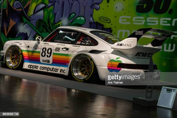 A 1980's Porsche sports car on display at the Essen Motor Show on December 1 2017 in Essen Germany The Essen Motor show is celebrating its 50th...