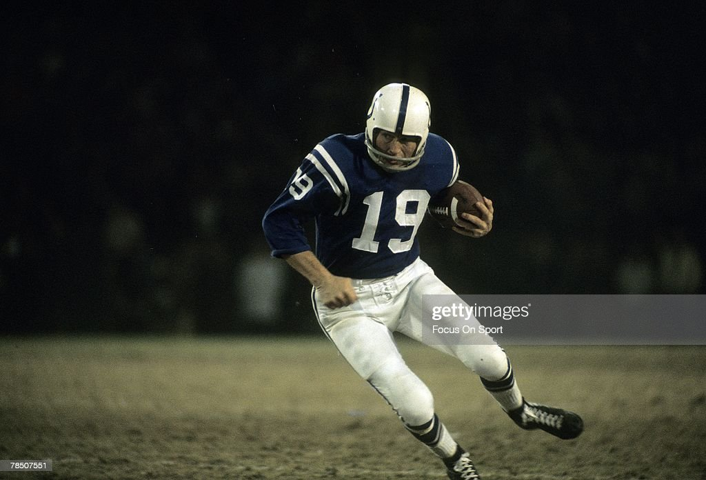 Baltimore Colts : News Photo