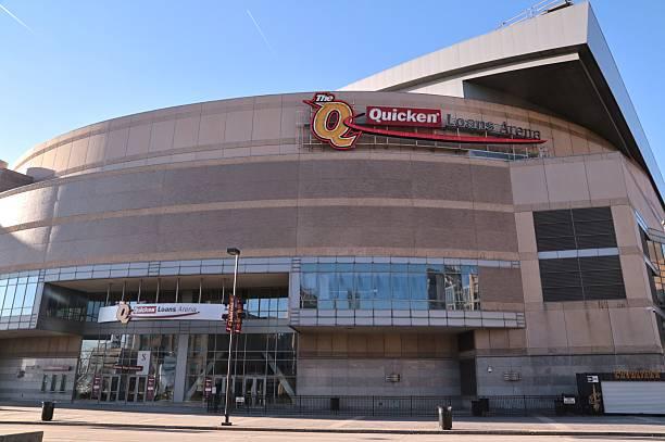 NBA's Quicken Loans Arena, Cleveland, Ohio, USA