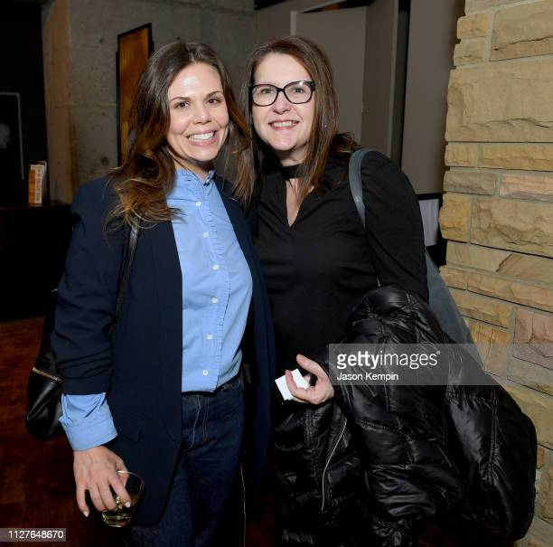 CMT's Rachael Wall and CMT SVP of Operations Suzanne Norman attend the Twelfth Annual Louise Scruggs Memorial Forum honoring Bebe Evans and Marcie...