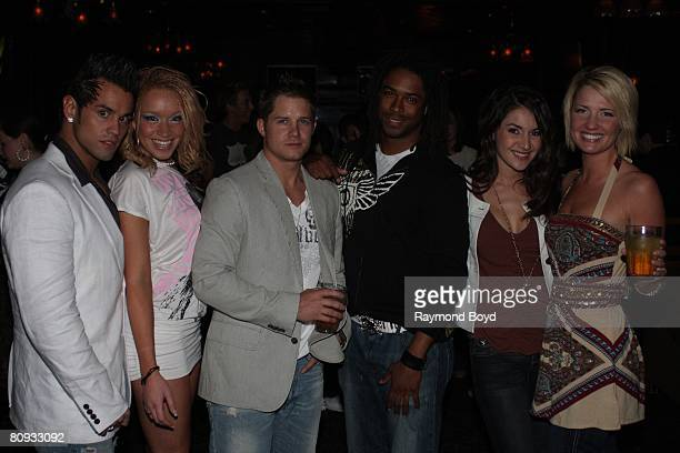 MTV's Real World XX Hollywood cast held a premiere party at Excalibur Nightclub in Chicago Illinois on April 11 2008
