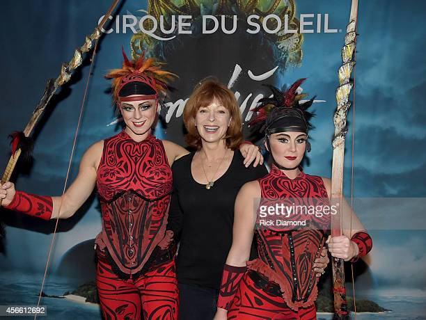 "S ""Resurrection"" cast member Frances Fisher attends Amaluna opening night at the Big Top at Atlantic Station on October 3, 2014 in Atlanta, Georgia."