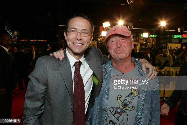 CAA's Richard Lovett and Tony Scott director during New Line Cinema's Domino Los Angeles Premiere at Grauman's Chinese Theatre in Los Angeles...