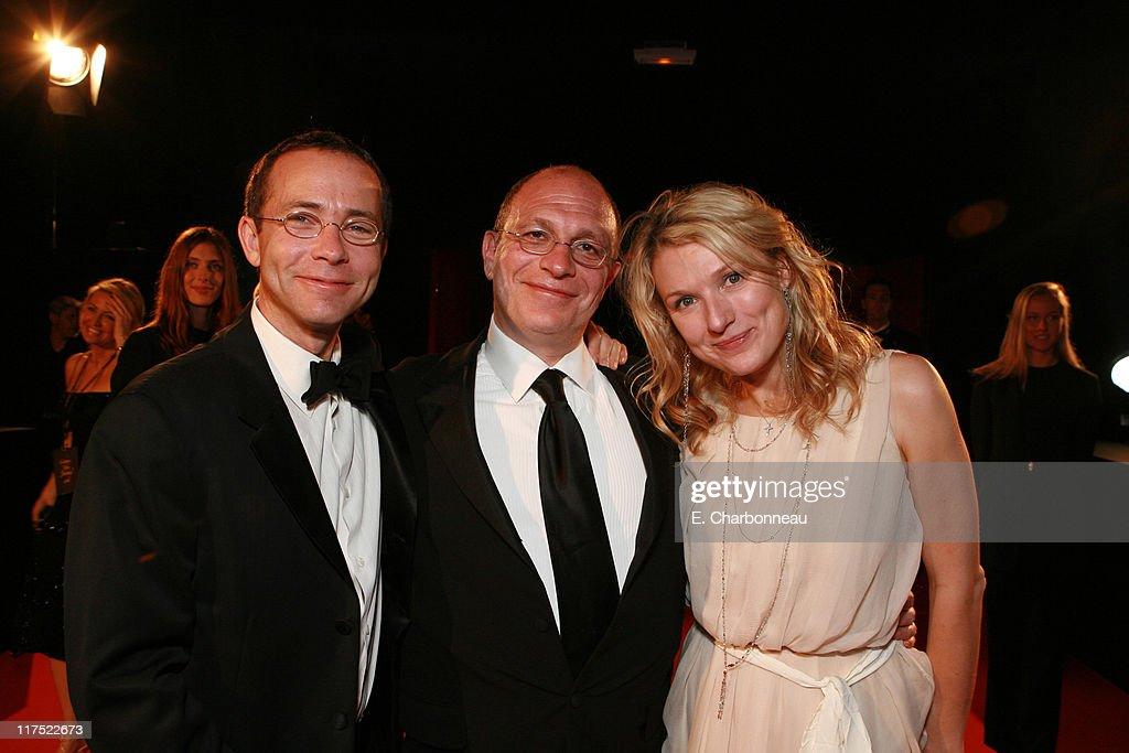 CAA's Richard Lovett, Writer Akiva Goldsman and Rebecca Goldsman