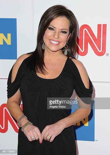 CCN's Robin Meade attends the CNN Worldwide AllStar 2014 Winter TCA Party at Langham Hotel on January 10 2014 in Pasadena California