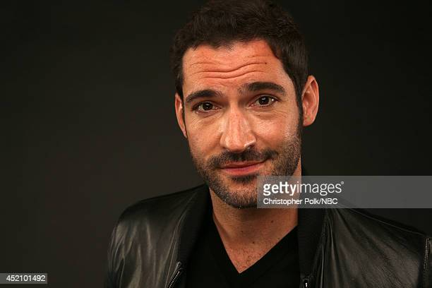 """S """"Rush"""" actor Tom Ellis poses for a portrait during the NBCUniversal Press Tour at the Beverly Hilton on July 13, 2014 in Beverly Hills, California...."""