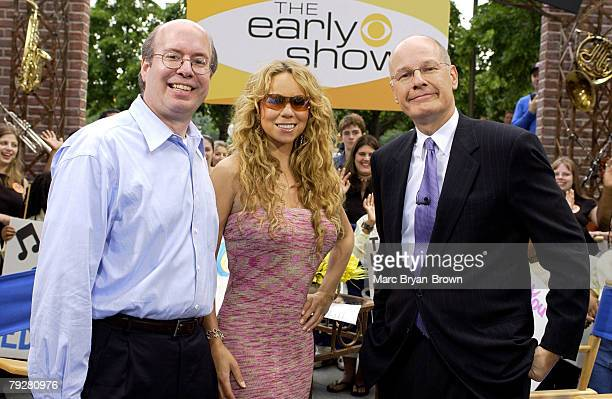 VH1's Save the Music Bob Morrison Mariah Carey and CBS's The Early Show Anchor Harry Smith