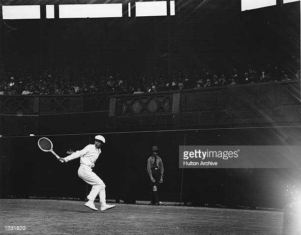 MEN's SEMIFINALS AT THE WIMBLEDON TENNIS CHAMPIONSHIPS Mandatory Credit Allsport Hulton/Archive