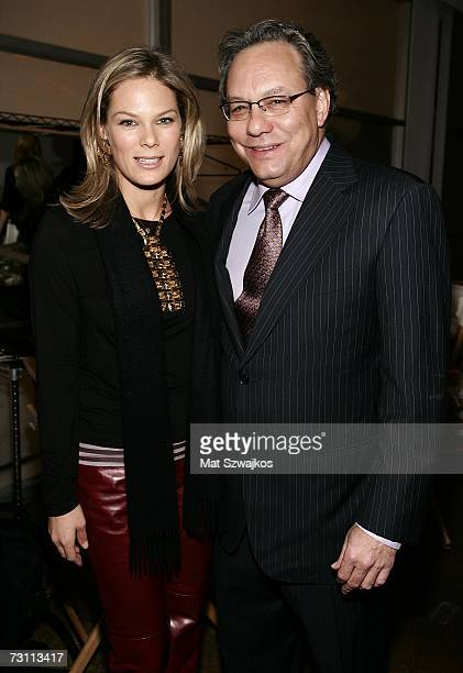 "S Serena Altschul and comedian Lewis Black attend Kenneth Cole's ""R.S.V.P. To HELP"" benefit hosted by Kenneth Cole and Jon Bon Jovi at the Tribeca..."