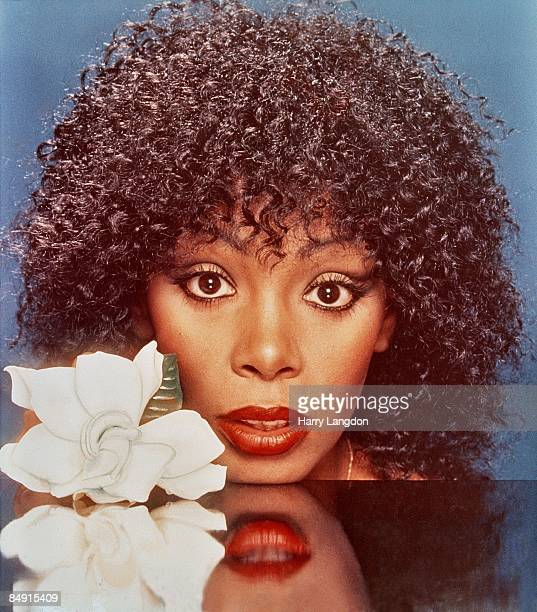 MID 1980's Singer Donna Summer poses for a photo in the mid 1980's in Los Angeles California