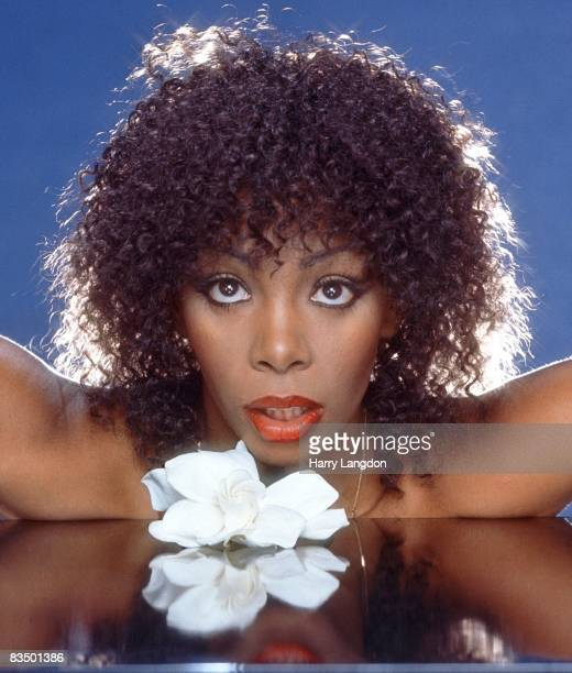 MID 1980's Singer Donna Summer poses for an photo session in the mid 1980's in Los Angeles California