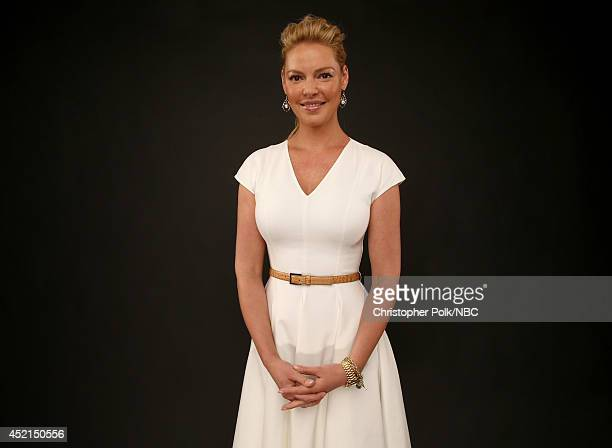 "S ""State of Affairs"" actress Katherine Heigl poses for a portrait during the NBCUniversal Press Tour at the Beverly Hilton on July 13, 2014 in..."
