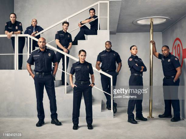 S Station 19 stars Danielle Savre as Maya Bishop, Miguel Sandoval as Pruitt Herrera, Boris Kodjoe as Robert Sullivan, Grey Damon as Jack Gibson,...