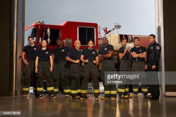 STATION 19 ABC's 'Station 19' stars Grey Damon as Jack Gibson Danielle Savre as Maya Bishop Okieriete Onaodowan as Dean Miller Miguel Sandoval as...