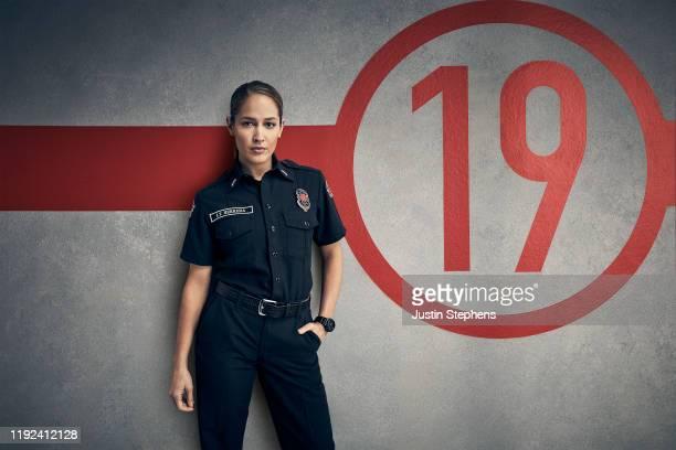 STATION 19 ABC's Station 19 stars Jaina Lee Ortiz as Andy Herrera