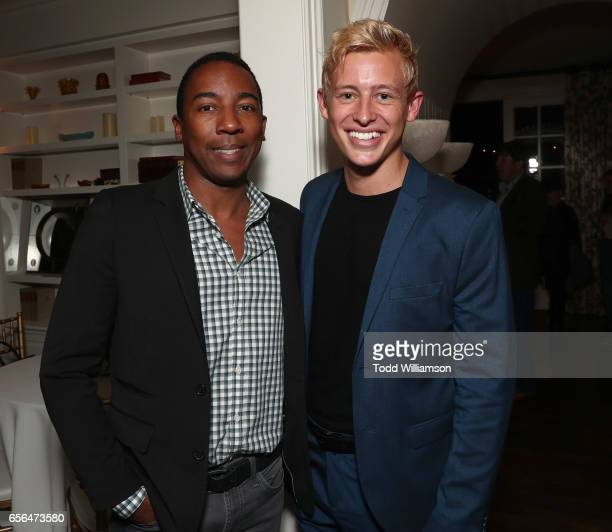 BWR's Steve Wilson and Logan Coffey attend the CAA Agent Tracy Brennan Hosts Party For 20th Anniversary Of Savannah Film Festival Presented by SCAD...