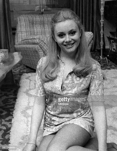 V's studios where the goldern shot is made Ann Aston relaxes in her new flat at West Bromwich Staffs Blue eyed 22 year old Ann blonde hostess of the...