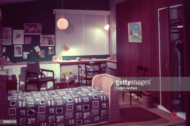A 1950's studybedroom