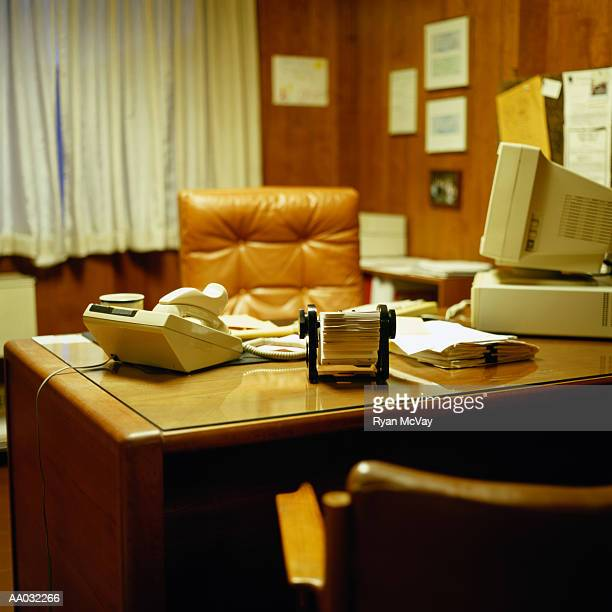 1970's style office - 1970s stock photos and pictures