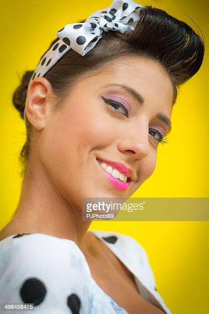 50's Style - Portrait of Pretty woman