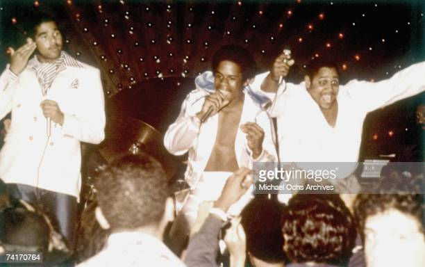 LATE 1970's Sugar Hill Gang perform on stage circa late 1970's in New York