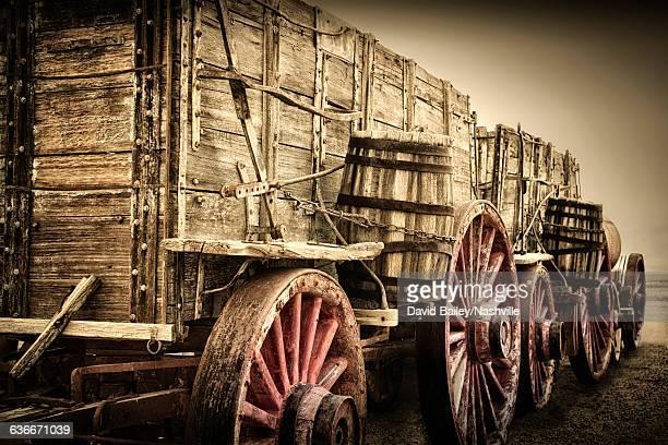 1880's Supply Wagons