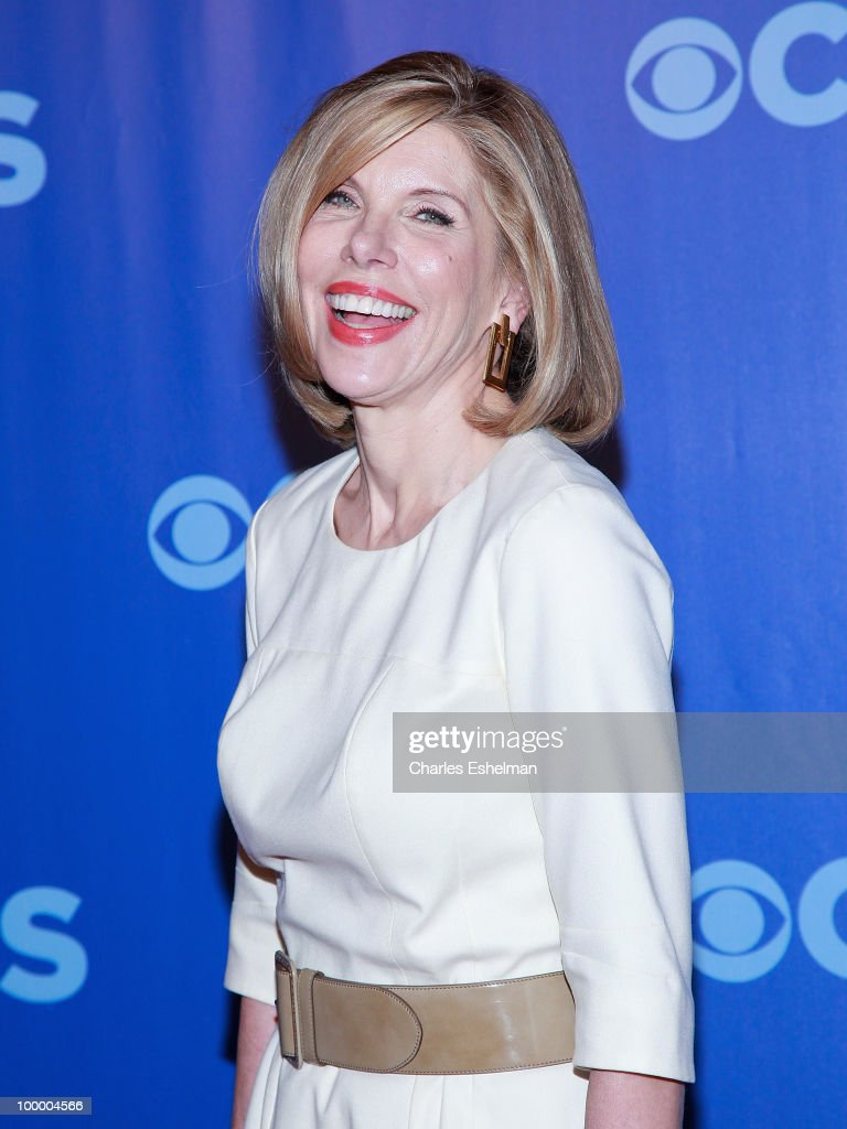 CBS's 'The Good Wife' actor Christine Baranski attends the 2010 CBS UpFront at Damrosch Park, Lincoln Center on May 19, 2010 in New York City.