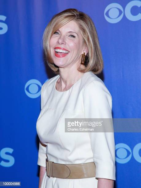 CBS's The Good Wife actor Christine Baranski attends the 2010 CBS UpFront at Damrosch Park Lincoln Center on May 19 2010 in New York City