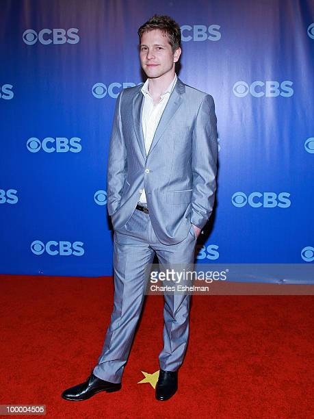 CBS's The Good Wife actor Matt Czuchry attends the 2010 CBS UpFront at Damrosch Park Lincoln Center on May 19 2010 in New York City