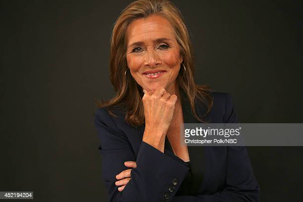 NBC's The Meredith Vieira Show host Meredith Vieira poses for a portrait during the NBCUniversal Press Tour at the Beverly Hilton on July 13 2014 in...