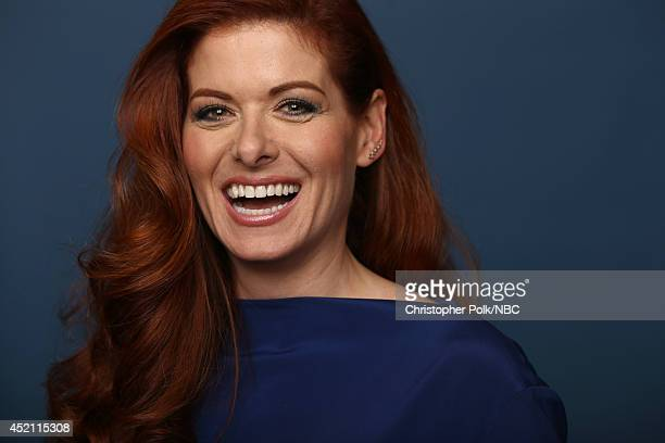 NBC's 'The Mysteries of Laura' actress Debra Messing poses for a portrait during the NBCUniversal Press Tour at the Beverly Hilton on July 13 2014 in...