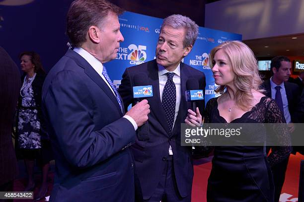 EVENTS CNBC's 'The Next 25' Gala Pictured CNBC's Joe Kernen Jeffrey Bewkes and CNBC's Becky Quick at CNBC's 'The Next 25' Gala in New York