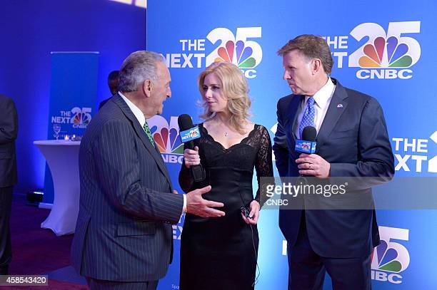 EVENTS CNBC's 'The Next 25' Gala Pictured Sandy Weill CNBC's Becky Quick and Joe Kernen at CNBC's 'The Next 25' Gala in New York