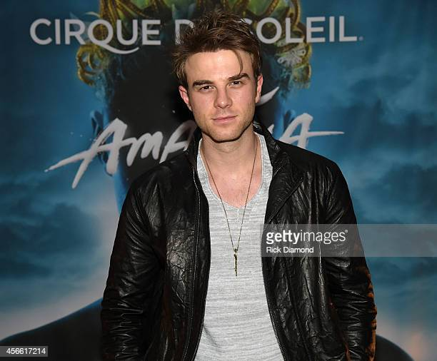 CW's 'The Originals' cast member Nathaniel Buzolic attends Amaluna opening night at the Big Top at Atlantic Station on October 3 2014 in Atlanta...