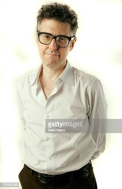 NPR's This American Life radio host Ira Glass poses for a portrait during the 2007 Sundance Film Festival on January 24 2007 in Park City Utah