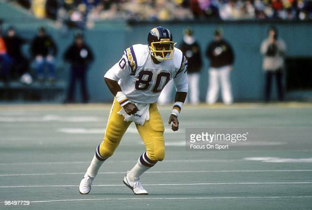 PITTSBURGH PA CIRCA 1980's Tight End Kellen Winslow of the San Diego Chargers in action against the Pittsburgh Steelers circa early 1980's during an...