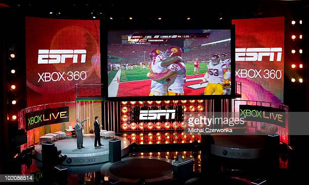 ESPN's Trey Wingo and Josh Elliott speak about the new Xbox 360 console feature that allows users to access and watch sports programming broadcast by...
