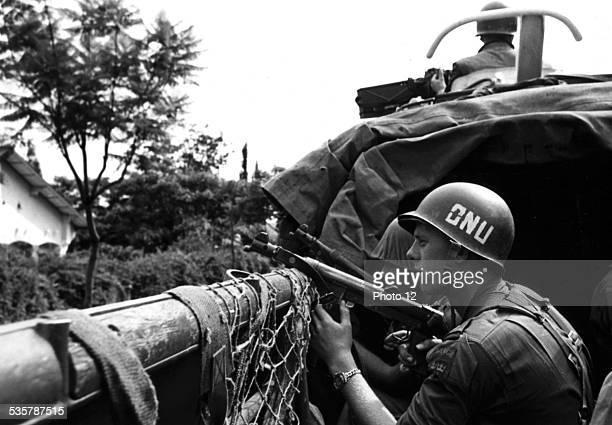 UNO's troops in Elisabethville Congo December 1961 Congo