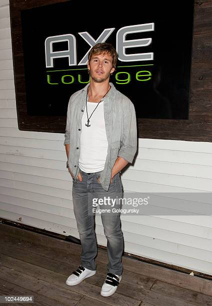 HBO's True Blood star Ryan Kwanten celebrates the single life at AXE Lounge on June 26 2010 in Southampton New York