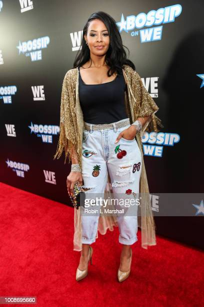 TV's Vanessa Simmons attends the 2nd Annual Bossip Best Dressed List event at Avenue on July 31 2018 in Los Angeles California