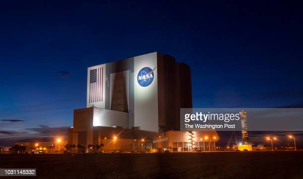 NASA's vehicle assembly building at Kennedy Space Center