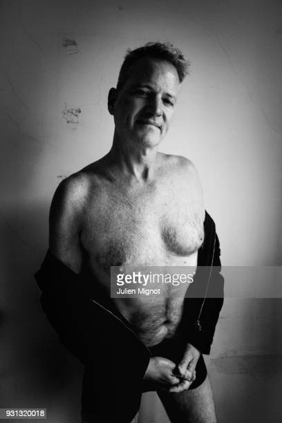 PETA's Vice President Dan Mathews is photographed for Liberation on February 2018 in Paris France